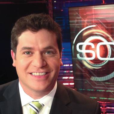 The former sports director and anchor for Las Vegas' ABC affiliate is now working for one of the largest sports networks in the world.