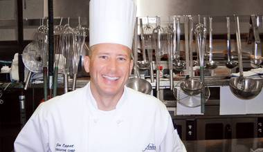 The corporate executive chef has been with the Detroit-based Joe Vicari restaurant group for seven years.