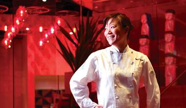 The former chef at China Poblano and Bouchon is ready to show her stuff and compete against the best.