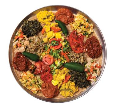 From Ethiopian platters to Russian dumplings, Vegas' international delicacies are an expedition waiting to be devoured.