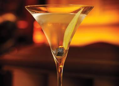 The Bellagio bar marries the caviar with Beluga Gold Line Noble Russian Vodka.