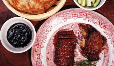 Looking for a celebratory Chinese New Year meal? Sosa says his Peking duck is among the best in town.