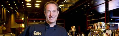 The chef and restaurateur has had a busy start to 2014, opening new Brooklyn Bowl venues in London and Las Vegas.