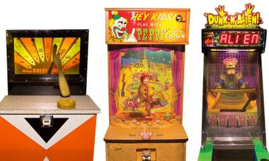 "The Pinball Hall of Fame has a whole lot more than just the standard arcade game—Just take a spin on the ""Relax-a-lator."""