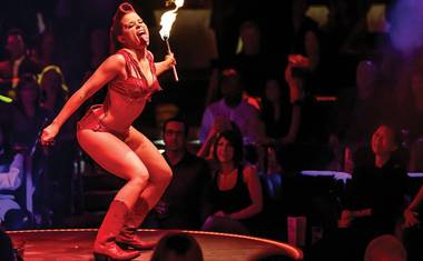 The new face of burlesque in Las Vegas is unpredictable, fun and downright sexy!