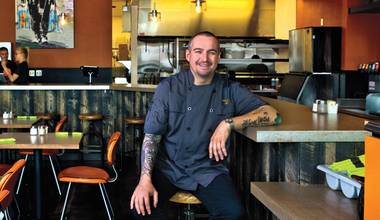 The veteran chef pulls triple duty at MTO Café, RM Seafood and Rx Boiler Room. How?