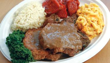 H&H BBQ Plus 2 offers the same soulful Southern fare in a bright and friendly atmosphere.