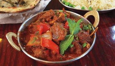 India Palace's big menu, deep flavors and friendly service make it a contender for the city's best Indian restaurant.