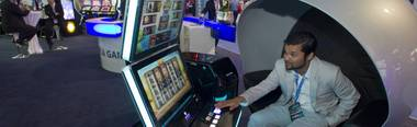 The gaming machines of the future are built by teams of video-game caliber animators and artists—and they're hitting casino floors today.