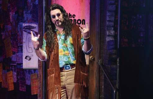 Joey Fatone's fans are stoked on his run in 'Rock of Ages'—and so is he