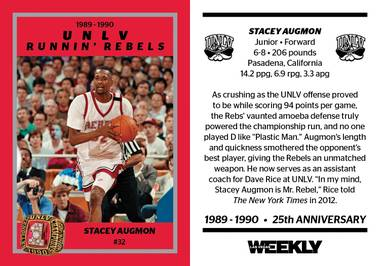 It's been 25 years since the Runnin' Rebels claimed the 1990 national championship.