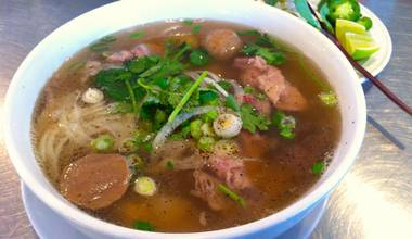 The thing about pho is that it's pretty much the same all over.