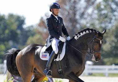 The dressage champion talks Olympic memories, his love for Vegas crowds and the power of David Bowie.