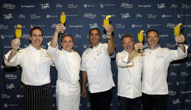 Julian Serrano, Emeril Lagasse, Wolfgang Puck and so many other celebrity chefs took over the Strip once again, and it was delicious.