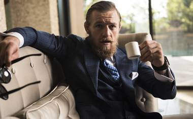 Fast-rising fighter Conor McGregor has been holed up in a Valley mansion, prepping for his toughest UFC test.
