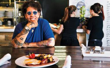 The chef and restaurateur talks her upcoming Chow eatery, her American Express commercial and why fried chicken and Chinese food make perfect sense together.