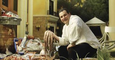 The great chef will be replaced by Mark LoRusso, who slides over from Botero at Encore.