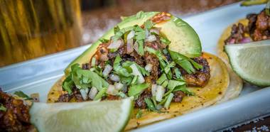 You know you love steak tacos. Steal this recipe from one of the Strip's top party food spots.