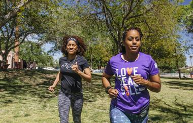 The all-inclusive group encourages African American women to defy stereotypes, come together and hit the pavement.