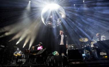 It felt fitting that LCD Soundsystem's fourth performance at the festival—and first festival appearance anywhere since re-forming—be of the night-capping variety.