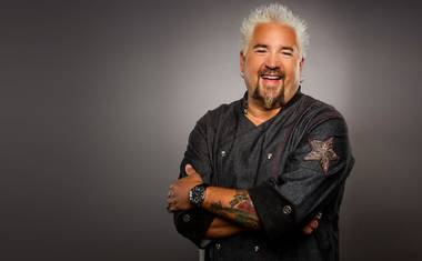 With a new restaurant and his first-born enrolled at his alma mater, Guy Fieri is all about Las Vegas.