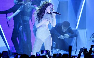 The pop star kicked off her Revival Tour at Mandalay Bay May 6.