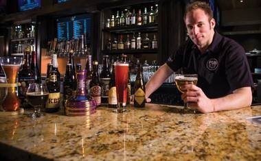 The new beer-centric bar boasts a rotating list of 365 brews.