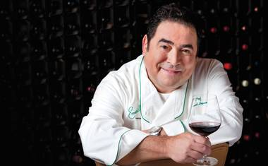 In Eat the World, Emeril and fellow Vegas celebrity chef José Andrés visit modernist-cuisine godfather Ferran Adrià in Spain.