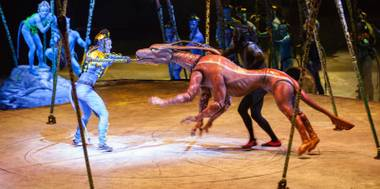 "Cirque du Soleil has seven permanent resident shows in seven different casino resorts on the Las Vegas Strip. But come January, its new touring production will settle into T-Mobile Arena for a five-day limited engagement. The ""live immersion experience"" is a story set thousands of years before ..."