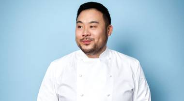 The culinary force is opening his biggest Momofuku yet at the Cosmopolitan in January, which might only be the most anticipated Vegas restaurant ever.