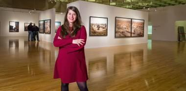 """When someone who's not used to looking at art is in a tour here at the Barrick and you see that light bulb go off, and they realize that art is something more than just what it looks like, that's significant."""