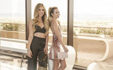 The fashion and lifestyle blog launched by Kelley and Victoria Fertitta is bright, fresh and full of energy, not unlike the sisters themselves.