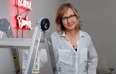 Allison Wiese will immerse herself in the Neon Museum's collection, while also discovering the city.