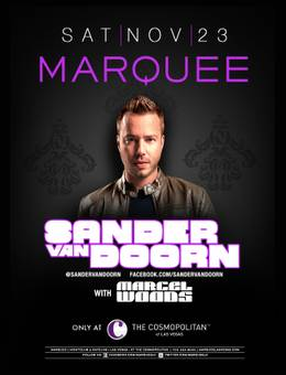 Sander van Doorn at Marquee