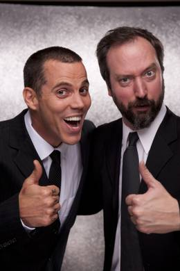 Steve-O and Tom Green
