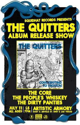 The Quitters album release show
