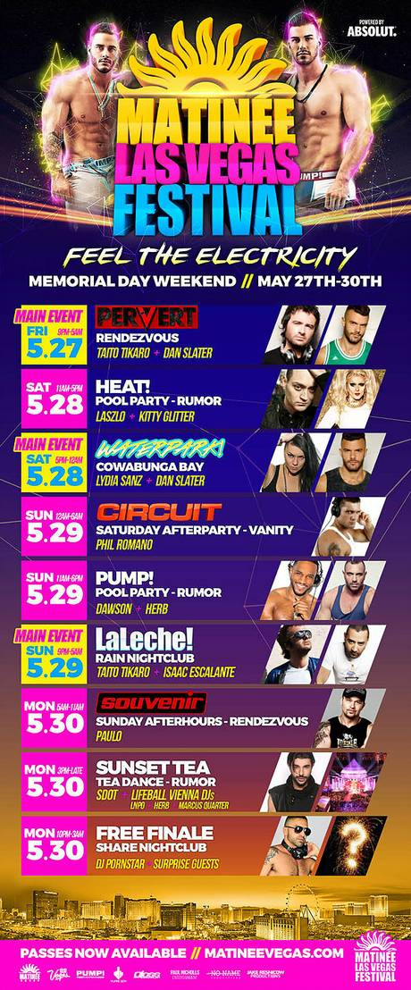 May Calendar Las Vegas : Events calendar matinee las vegas festival
