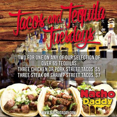 Tacos and Tequila Tuesdays