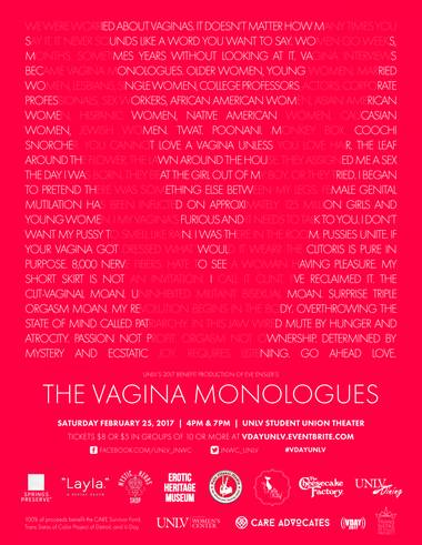 "V-Day UNLV: ""The Vagina Monologues"""