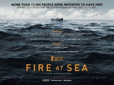 Fire at Sea Screening