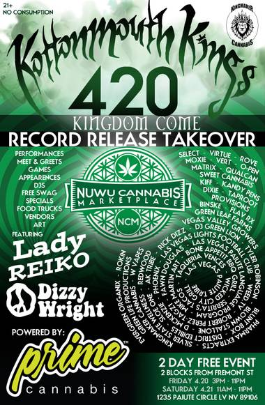 Kottonmouth Kings Record Release Takeover