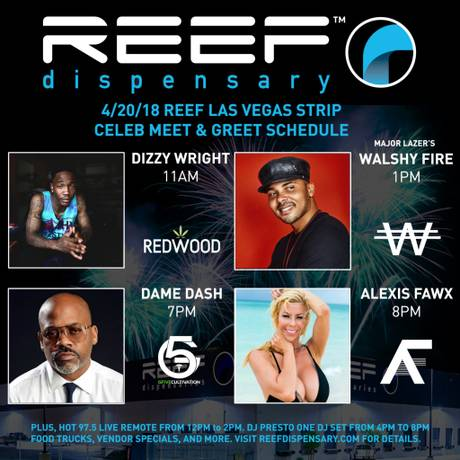 Reef Dispensaries' The Main Event