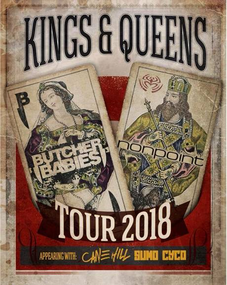 Kings and Queens Tour: Nonpoint and Butcher Babies