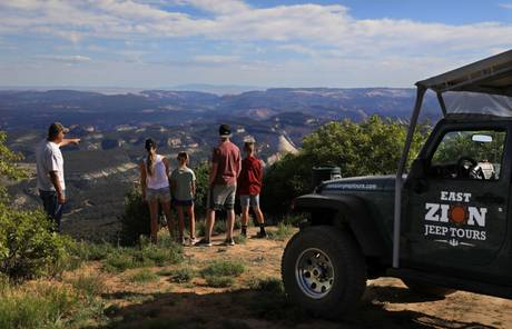 Jeep Week with East Zion Jeep Tours & Zion Ponderosa Ranch Resort