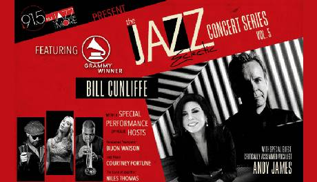 The Jazz Eclectic Concert Series (Vol. 5) featuring Bill Cunliffe & Andy James