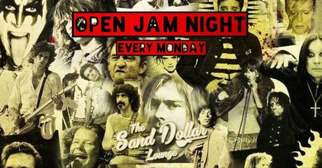 Open Mic Comedy & Jam at Sand Dollar Lounge