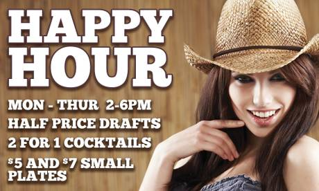 Happy Hour at PBR Rock Bar & Grill
