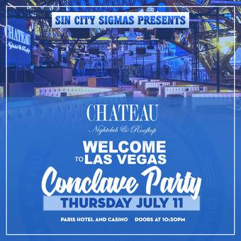 Conclave Party at Chateau Nightclub