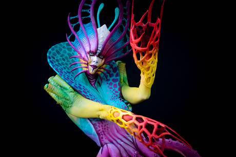 Events Calendar World Bodypainting Festival Hotspot Las Vegas Weekly