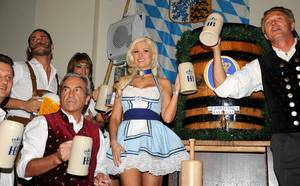 Holly Madison at Hofbrauhaus